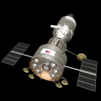 Apollo Venus Flyby Spacecraft: Probe Compartment by William-Black