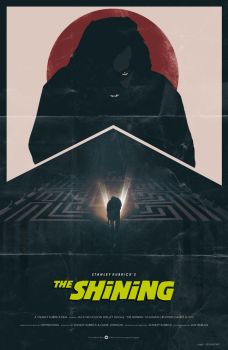The Shining (1980) fan poster by crqsf