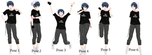 [ mmd ] Pose Pack DL by Cieeel