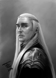 king Thranduil by Spring-Fairy