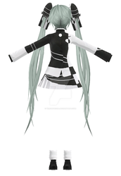Conflict Miku Outfit DL by wirdafauzia