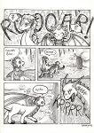 Just for fun comic page by Wollfisch