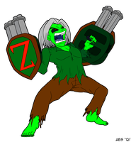 Project Zombie - AlanES Commission by AuthorNumber2