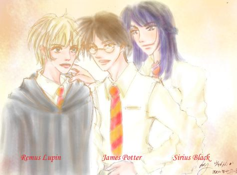 The Marauders by Lady-of-Flowers