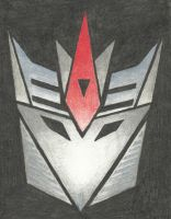 Decepticon Insignia - Starscream (TFP) by LadyIronhide