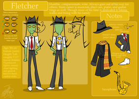 Full Reference: Fletcher by CuddlesAndHuggles
