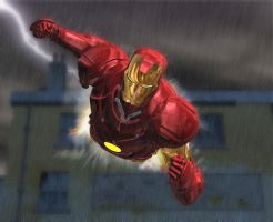 Thor and Iron Man 1 of 3 by HAL001