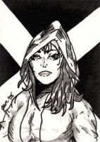 Rogue - Classic Style by jamsketchbook