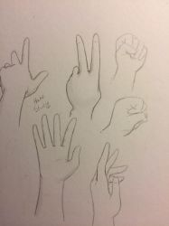 Hand Study by AntiLucky