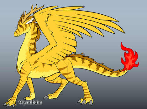 Hyper Dragon form by Ailsa-the-Leafeon