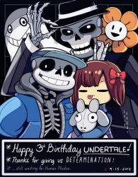 Undertale 2018 Anniversary by OracleSaturn