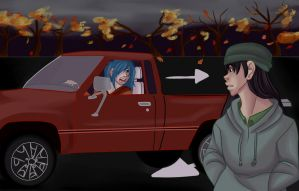 Mr.Alaska Commission 4: Get In The Car by Freyamustdie