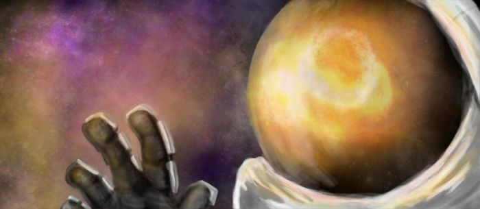 Floating around my tin can by larryrotten