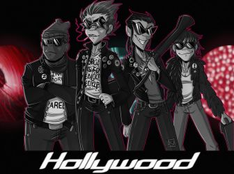 Hollywood - Gorillaz by Ashesfordayz