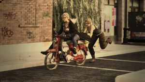 Daddy's old moped! by Edheldil3D