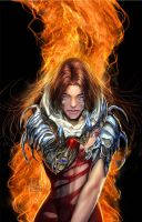 cover art of witchblade turner by nebezial