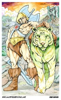 He-Man color by bphudson