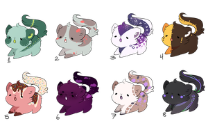 Kitty adopts (CLOSED) by Booty-Bae-Adopts