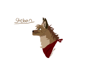 Steban headbust for Skailla by xXDragon-artistXx
