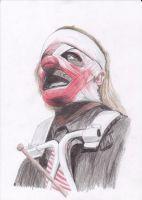 Shawn Crahan color by D-KenSama78
