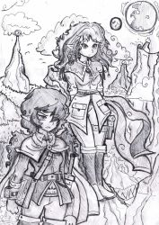 Witchy Fantasy duo by MrFulp