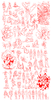 Nsio's Great Sketch Compilation by Nsio