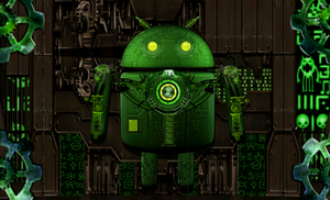Steampunk Droid Live Wallpaper by catbones