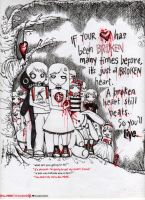 Bleed no more. by princessofangst