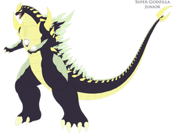 Super Godzilla Redesign by Pyrus-Leonidas