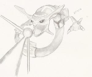 Rayquaza by ThunderLuxray