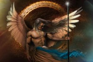 archangel gabriel .. God is my strength - animated