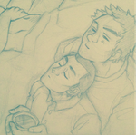 Drowsing [Mystrade] by ProfDrLachfinger
