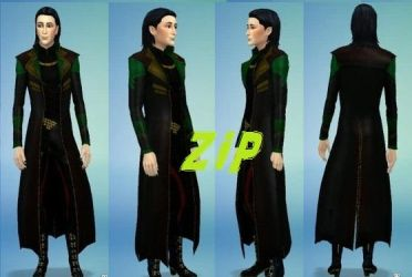 Loki outfit zip by LoverRevolveri