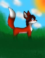 .:gift:. Zoey the Fox by Letipup