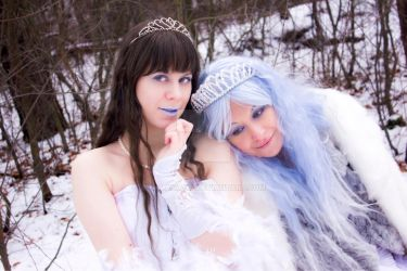 Snow Princess and Winter by Galaxiana