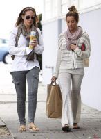 Bugs at Ashley Tisdale's and Haylie Duff's Feet by Red-Neptune