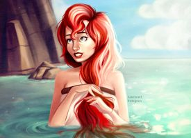 Ariel (COLOR) by Asaminert