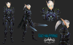 Elren'dara line up by The-Serene-Mage