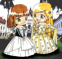 Wittelsbach princesses by Szaloncukor