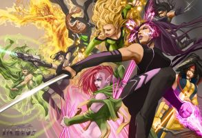 The X-Women by daguillo84