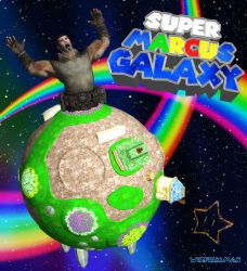 Super Marcus Galaxy by wizfrikiman