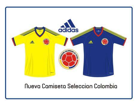 Nueva Camiseta Colombia by panguanochito