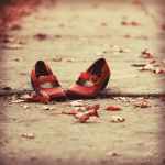 A red shoes adventure by zvaella