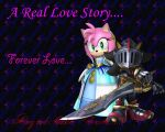 Amy and Shadow Wallpaper by Sunnyme60