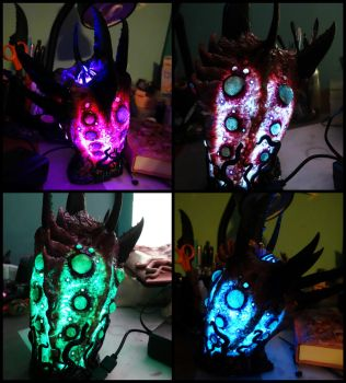 Sea creature led lamp light variations by dogzillalives