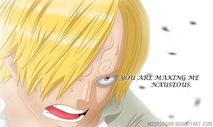 One piece 840 - Sanji by AizenSowan