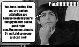 Paul is thinking... by Beatlesmanaiac2116