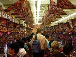 Pachinko Parlor by BrianManning