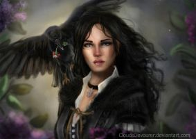 Yennefer of Vengerberg by CloudsDevourer