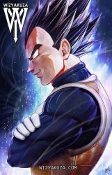 Vegeta Ultra Instinc by wizyakuza